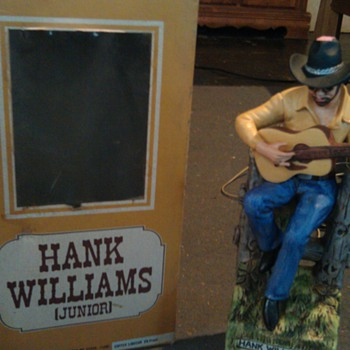 Hank Williams jr. decanter