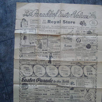 some more old papers  - Advertising