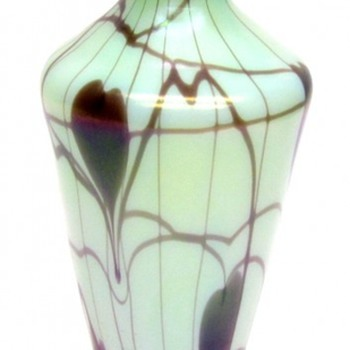 Rare Fenton Off Hand Vase c. 1925