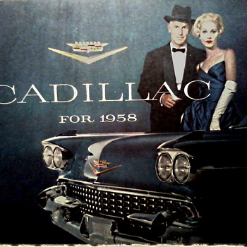 Cadillac Dealer Brochure / Circa 1958
