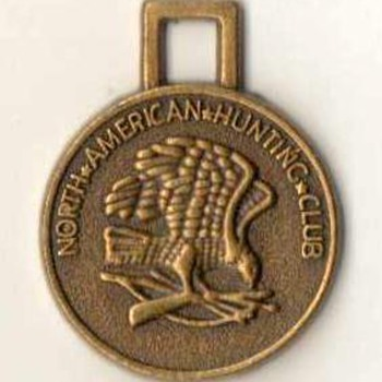 North American Hunting Club Fob-Token - Pocket Watches