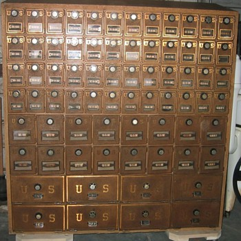 Federal Equipment Co. Post Office Box Bank - Office