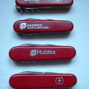Swiss Army Knives as advertising!
