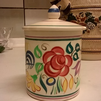 Pretty Little Piece Of Poole Pottery, 1956-1959, Thrift Shop Find 2,50 Euro - Pottery