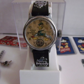 Holy Grail Of Disney Watches.... Ingersoll Donald Duck Wristwatch