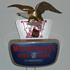 Wiedemann&#039;s Beer Eagle Light Up Motion Sign