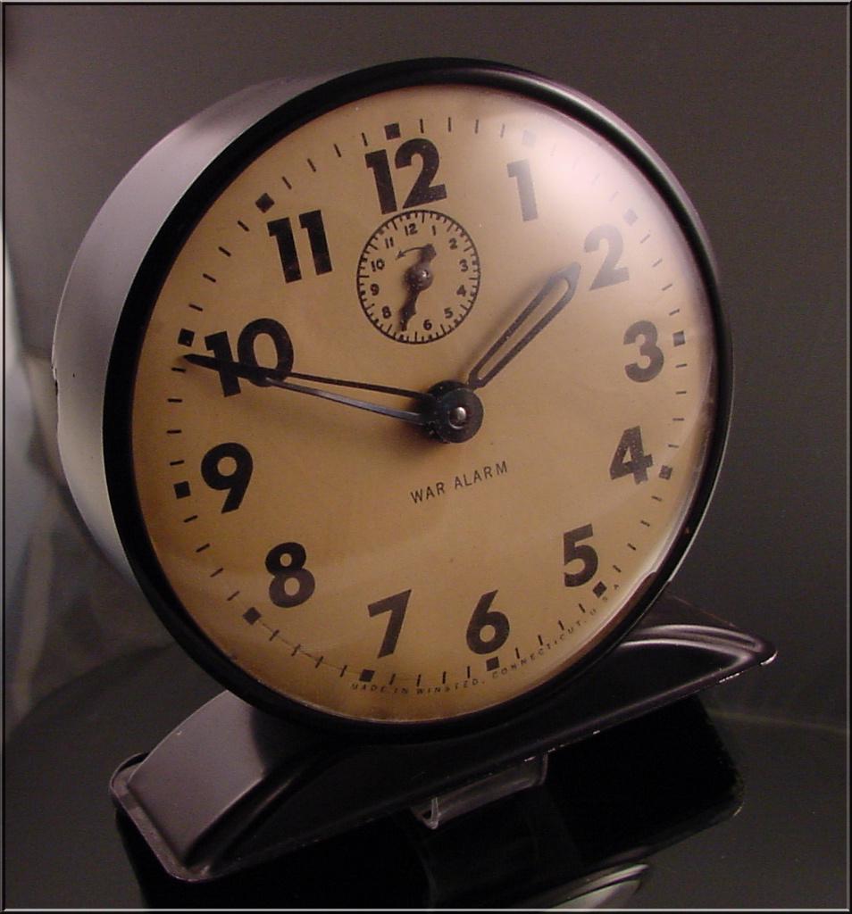 War Alarm Clock Unusual Collectors Weekly