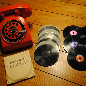 1965 Mattel-O-Phone - Toys