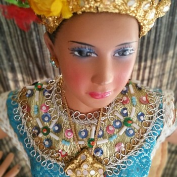 Thai Dancer  Doll