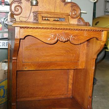 1901 Stromberg-Carlson Telephone Vanity