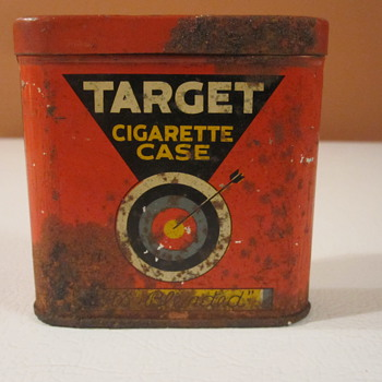 Vintage Target Cigarette Case