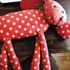 Red Polka Dot Dog.