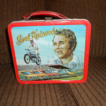 evel  knievel lunck box