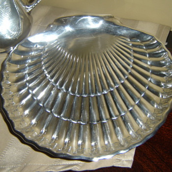 Silver plate &amp; sterling pieces