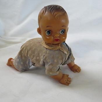Windup crawling doll - Dolls