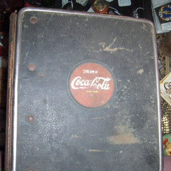 coca-cola salesmen note book