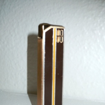 Colibri Vintage/Deco Style Lighter - 1970s