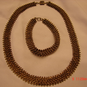 Beautiful Silver Necklace and Bracelet Mexico?