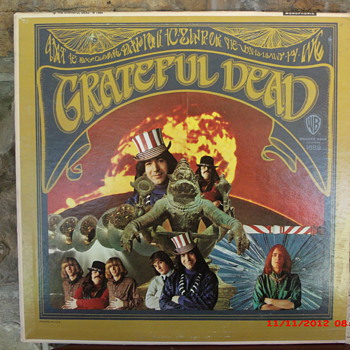 Grateful Dead's 1st LP in Mono. First pressing WB Gold label beauty. - Music