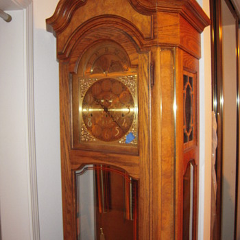 Anniversary Gift Grandfather Clock.