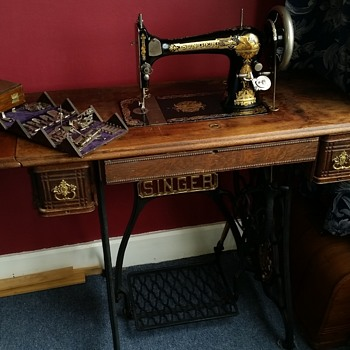 My 1893 Singer 27  - Sewing