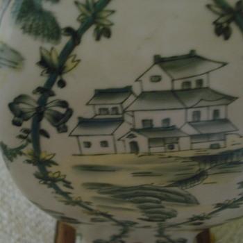 Asian Toile Lamp? - Lamps