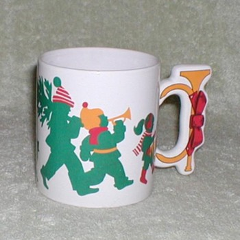 Coffee Cup - Christmas 1988