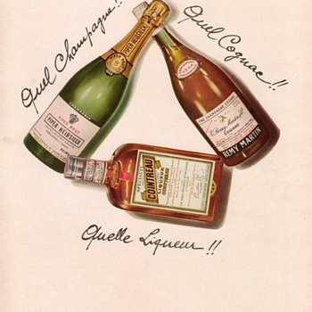1955 Remy Cointreau Advertisement