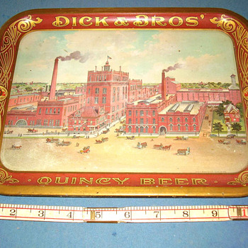 Dicks Beer Tray - Breweriana