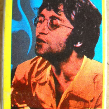 Vintage John Lennon matchbook - Music