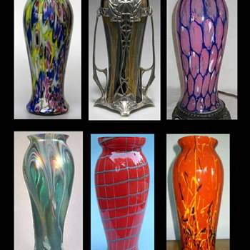 Simplistic Shapes and Attributions - Round 2 - Art Glass