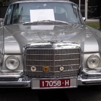 1969 Mercedes 280SE 3.5 Coupe