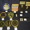Various military patches and ranks