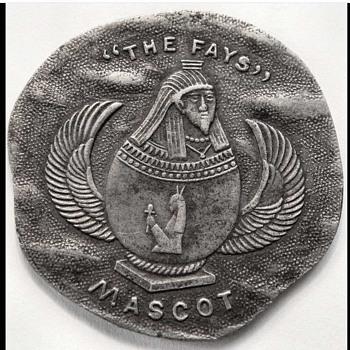 """Vintage """"The Fays"""" Magician's Coin / Token, circa 1910 - Victorian Era"""