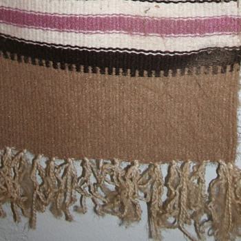 Navajo Blanket? - Rugs and Textiles