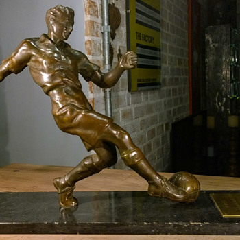 Football (soccer) Trophy mid-1930s to early 1950s