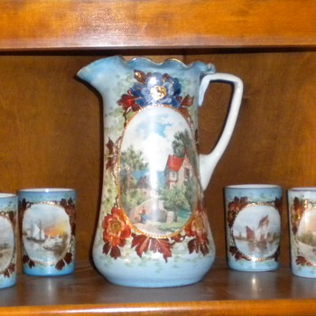 Victorian Lemonade set - China and Dinnerware