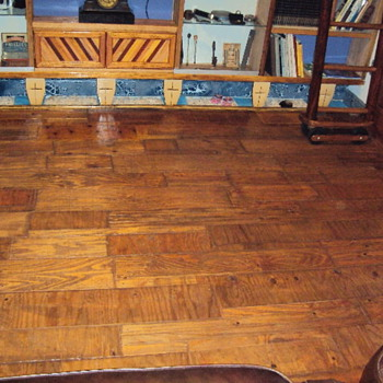 Custom Living room floor in our home