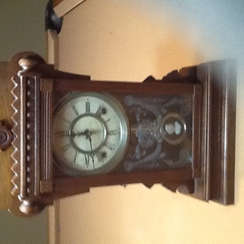 Waterbury mantel clock?
