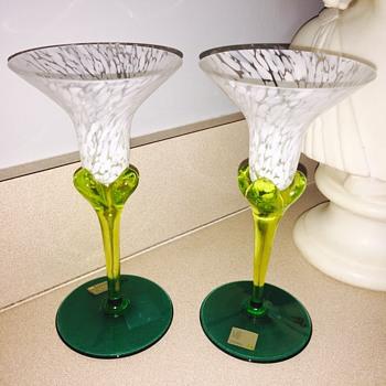 Mikasa glass set - Art Glass