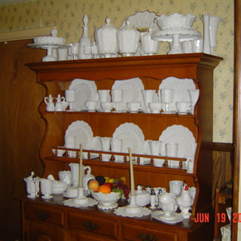 My Favorite Collection - Milk Glass