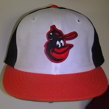 1979 Game Used Kiko Garcia Baltimore Orioles Cap - Baseball