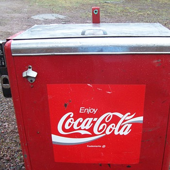 1943 coca cola machine 15 cents - Coca-Cola