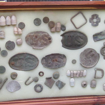 Civil War Relics Unearthed in Maryland