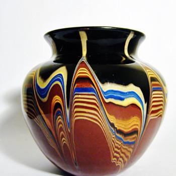 "ART DECO BELGIUM  ""DRIP GLAZE "" - Art Deco"