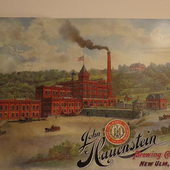 John Hauenstein Factory sign - Breweriana
