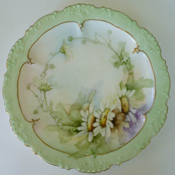 Pretty Little Unidentified Handpainted Floral Plate