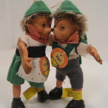 Steiff&#039;s Tiny and Rare Alpo and Alpa Dolls 