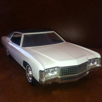 Dealer Promo of a 1971 Chevrolet Impala like my father's... - Model Cars