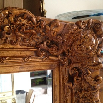 Hugh Ornate Mirror, by Windsor Art Co, Pico Rivera, California